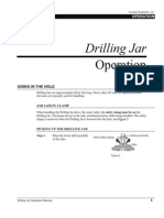 Running Procedure for Drilling Jars