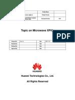 Topic on Microwave XPIC-B