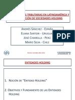 Jurisdicciones Tri but Arias en La Ti No America y Localizacion de Sociedades Holding - Presentacion General