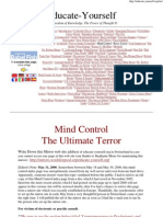 ^8 Mind Control Terror