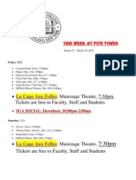 This Week at Five Towns. 3.23.12