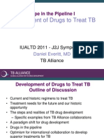 Development of Drugs to Treat TB (Dr. Daniel Everitt)