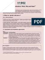 Gender Indicator