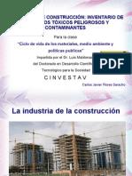 Materiales de Construcción-Inventario de elementos tóxicos v 1 por Carlos J Flores Saracho