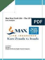 Max New York Life - Group 5