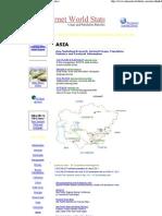 Asia Internet Facebook Usage and Population Statistics