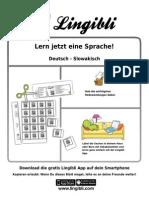 Slowakisch Lernen Mit Lingibli