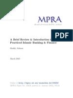 MPRA Paper 19458