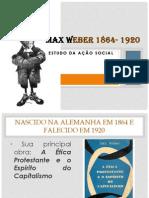 Max Weber 1864- 1920