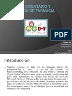 Sistema de Invent a Rio y Facturacion de Farmacia (