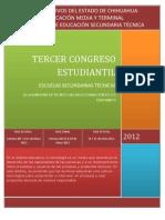 Convocatoria Congreso Estudiantil