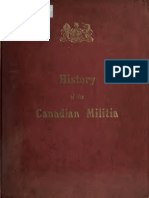 Chambers - History of the Canadian Militia