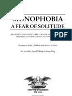 Mono Phobia - Version 1.1 - September 2010