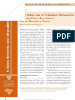 The Rebellion of Criminal Networks