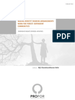 Making Benefit Sharing Work for Forest-Dependent Communities - Overview