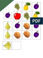 Domino Fructe de Toamna