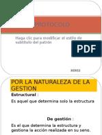 TIPOS DE PROTOCOLO