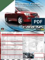 Kia Carens Brochure