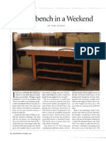 Weekend Workbench Small