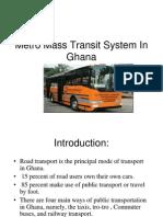 Metro Mass Transit _ Ghana