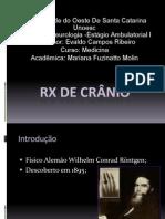 RX de Crânio Normal