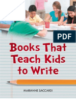 Books That Teach Kids to Write
