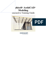 ArchiCAD Modeling E-Guide