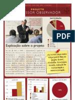 Flyer Projeto Professor Observador