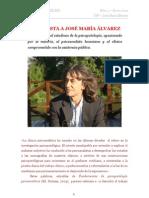 Entrevista Jose m Alvarez