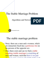 An Stable Marriage