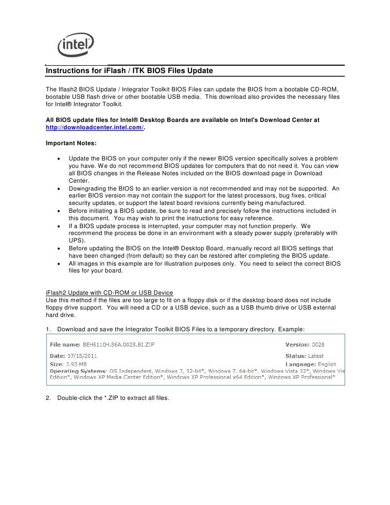 itkbiosfilesupdateinstructions1 | Bios | Booting