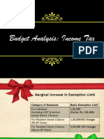 Union Budget 2012-Income Tax