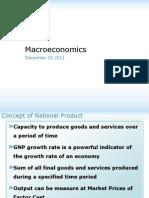 Macroeconomics 10 Dec