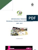 F001!08!5054 Documento Metodologico Programa JRE 2011