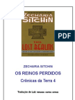Os Reinos Perdidos - Zecharia Sitchin - Ilustrado
