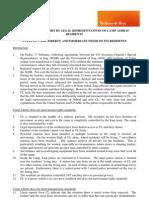 Second Report by Legal Representatives of Camp Ashraf Resid24 Feb 2012