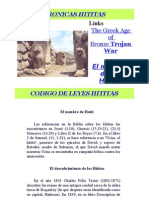 CRONICAS HITITAS