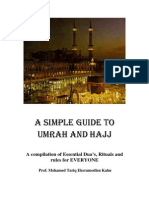 Al hajj - the hajj rituals simplified