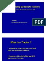 DownHole Tractors