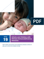 Infants and Children With Primary Immunodeficiency Diseases