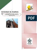 Actividad Análisis Unidad - 1 seguridad industrial y salud ocupacional en la industria de la construccion