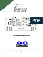 RCI510 400 Calibration