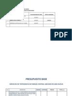 Formato Presupuesto Supervision