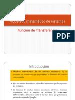 Func de Trasferencia y Diagrama a Bloques