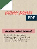 VARIASI BAHASA2