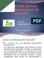 EDUCACIÓN SEXUAL RESPONSABILIDAD DE ADULTOS