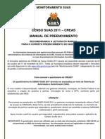 Censo Suas 2011 Creas Manual