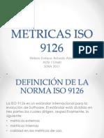 Metricas Iso 9126