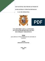 TESIS LITERATURA EXTRAMUROS