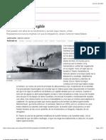 37. Titanic, La Leyenda Insumergible